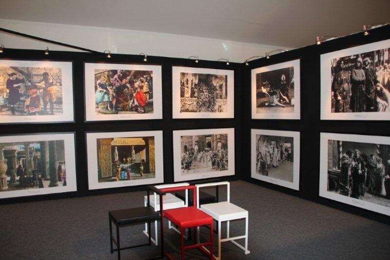 Exposition de photos  appartenant à  la Cinémathèque de Milan / Photo : Anik CoubleExposition de photos  appartenant à  la Cinémathèque de Milan / Photo : Anik Couble