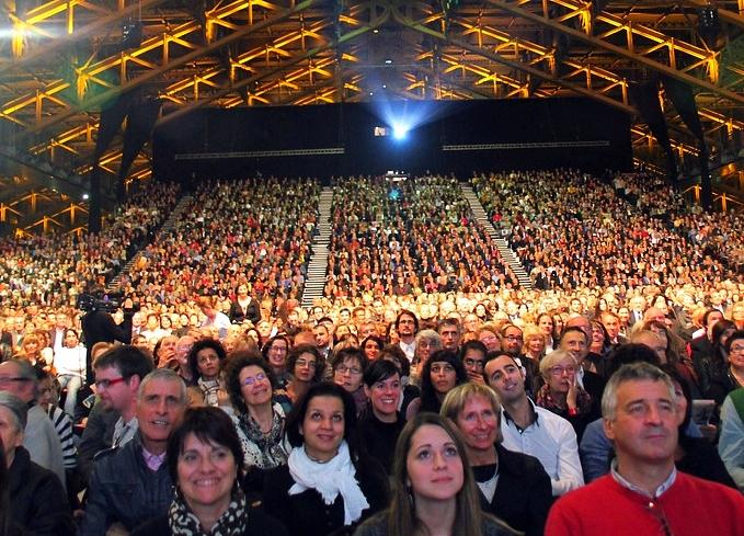 Public de la Halle Tony Garnier - Festival Lumière 2012 - Lyon - Photo © Anik COUBLE