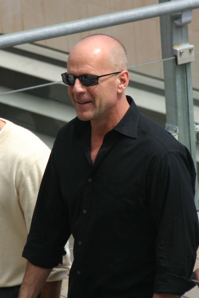Bruce Willis - Festival de Cannes 2006 - Photo © Anik COUBLE