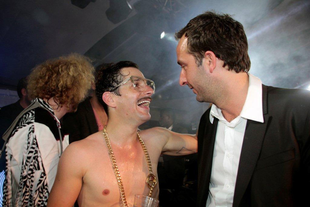 Gunther Love et Cyrille Eldinà la Villa Schweppes - Festival de Cannes 2012 © Anik COUBLE