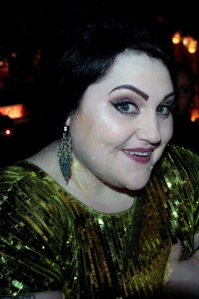 Beth DITTO, chanteuse du groupe GOSSIP - Festival de Cannes 2012 - Photo © Anik COUBLE