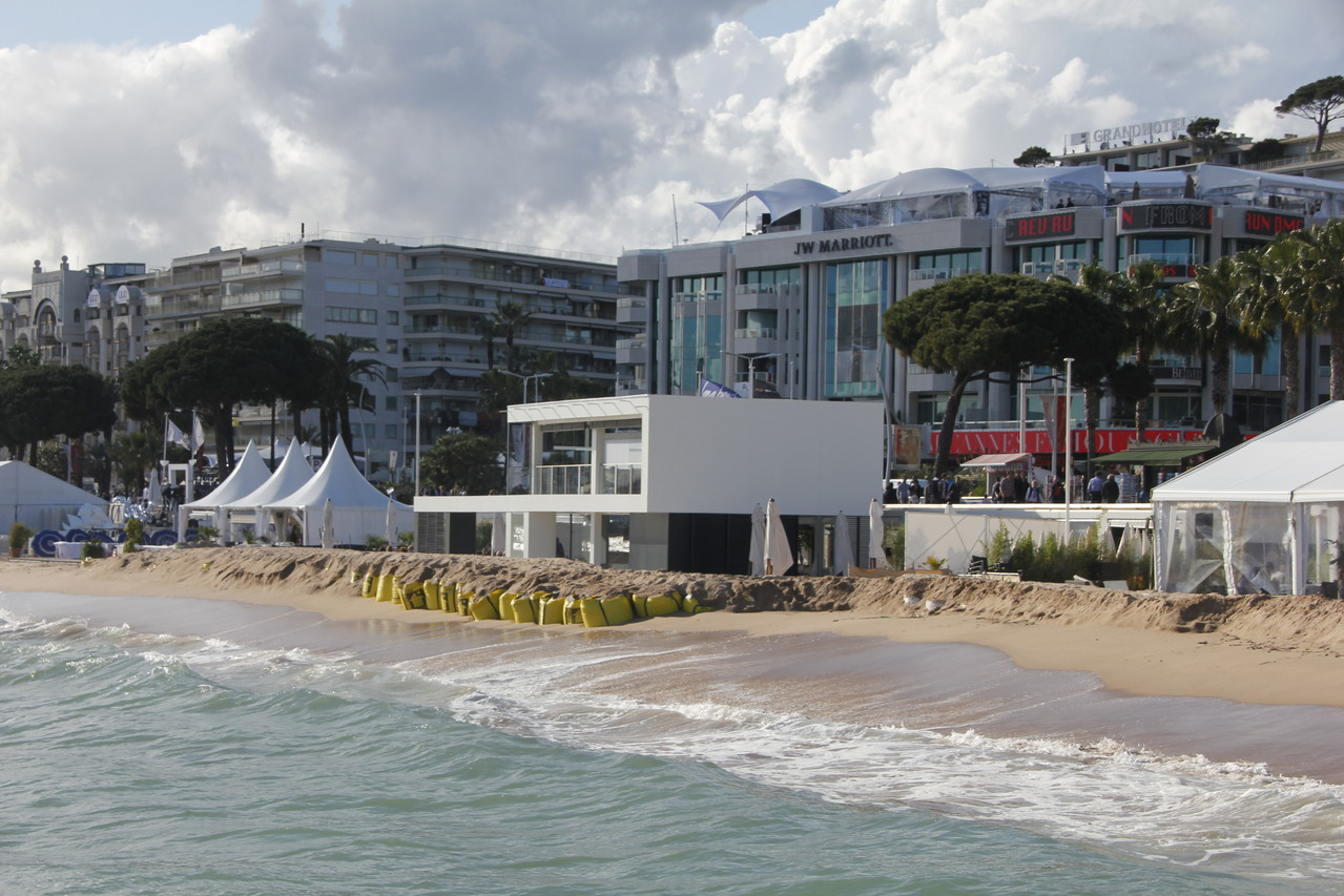 Plage Nespresso - Festival de Cannes 2013 © Anik COUBLE