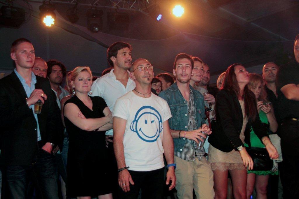 Le public de la Villa Schweppes - Festival de Cannes 2012 © Anik COUBLE