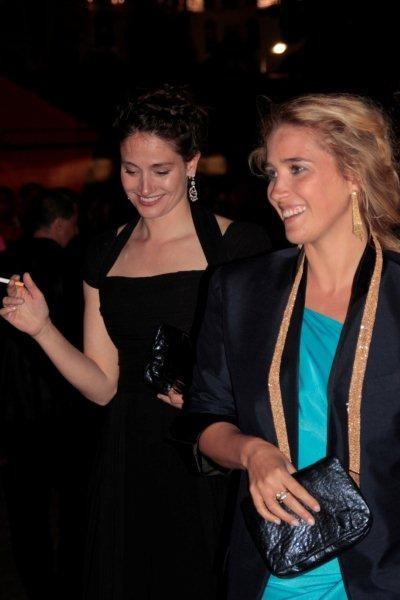 Marie Gillain et Vahina Giocante  -  Festival de Cannes 2012 © Anik COUBLE
