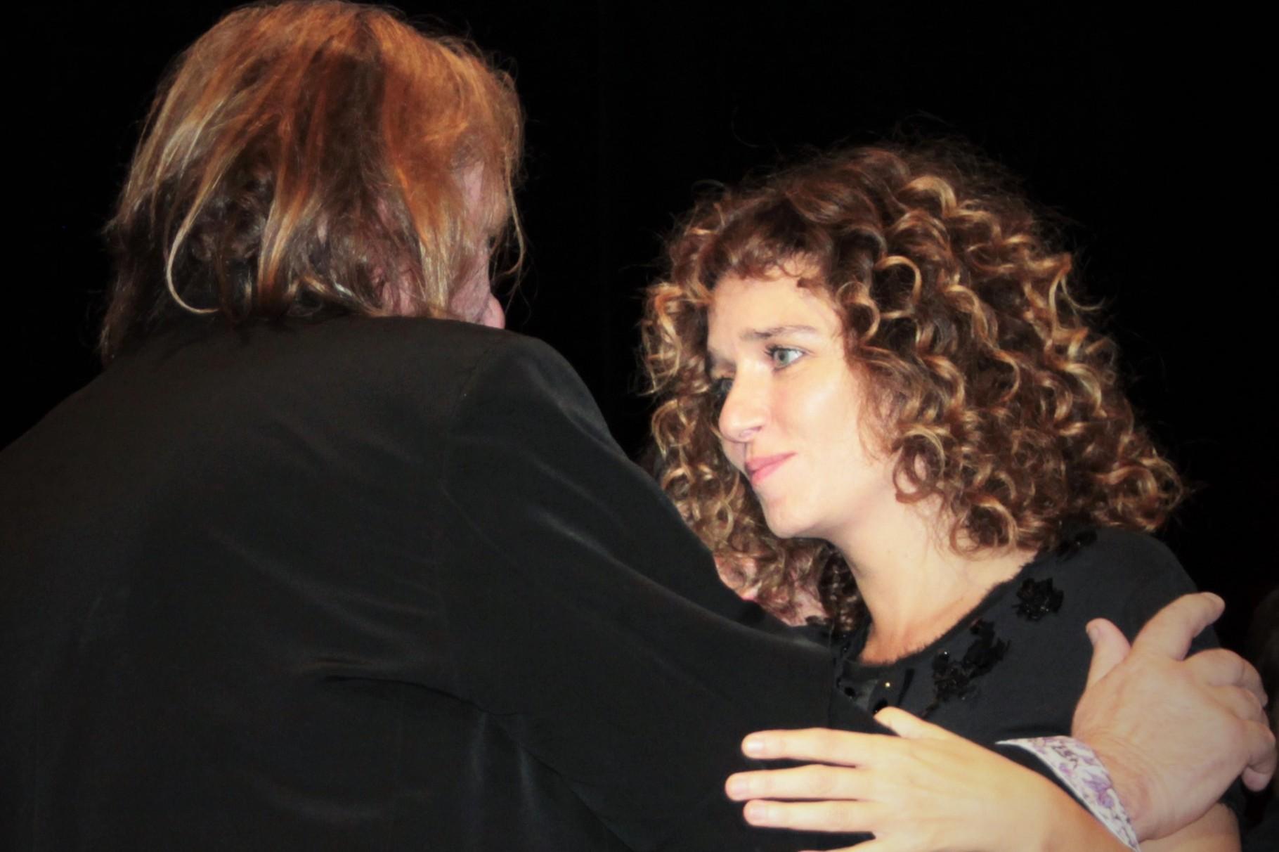 Gérard Depardieu et Valeria Golino - Festival Lumière 2011 - Lyon - Photo © Anik COUBLE
