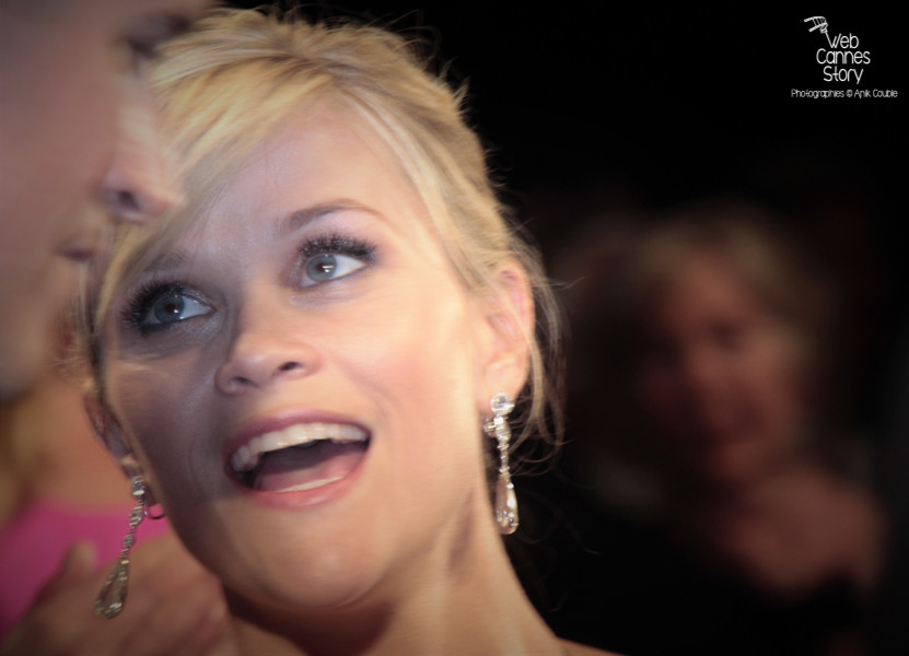 "Reese Witherspoon, lors de la projection du film ""Mud"" de Jeff Nichols - Festival de Cannes 2012 - Photo  © Anik Couble"