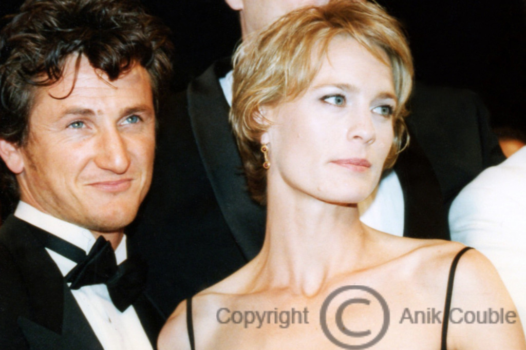 Sean Penn et Robin Wright 1997 / Photo : Anik Couble