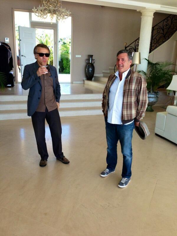 Christoph  Waltz et Daniel Auteuil - Festival de Cannes 2013 © Gilles JACOB