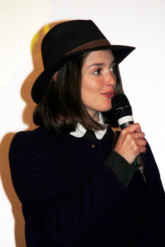 """Charlotte Le Bon, lors de l'avant-Première du film """"La Marche""""  Lyon - 5 Novembre 2013 - Photo © Anik COUBLE"""