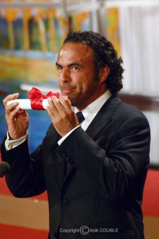 Prix de la mise en scène pour Alejandro González Inárritu en 2006 / Photo : Anik Couble