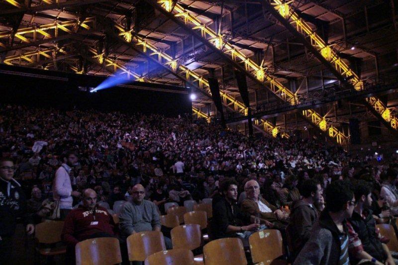 Le public  de la nuit de la Science Fiction - Festival Lumière 2011 - Lyon - Photo © Anik Couble