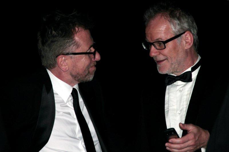 Tim Roth et Thierry Fremeaux  - Festival de Cannes 2012 © Anik COUBLE