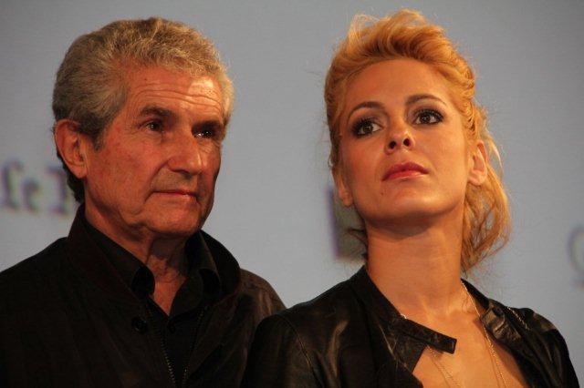 Claude LELOUCH et Audrey DANA - Festival Lumière 2011 - Photo  © Anik COUBLE