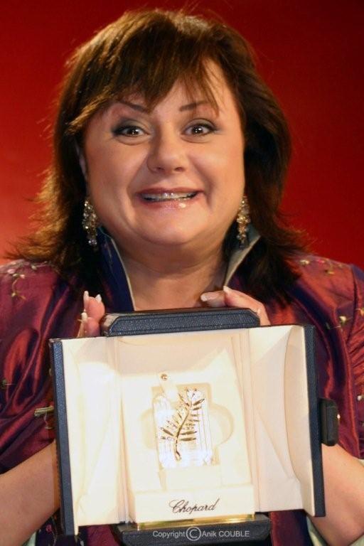 Prix d'interprétation féminine pour Hanna Laslo en 2005 / Photo : Anik Couble