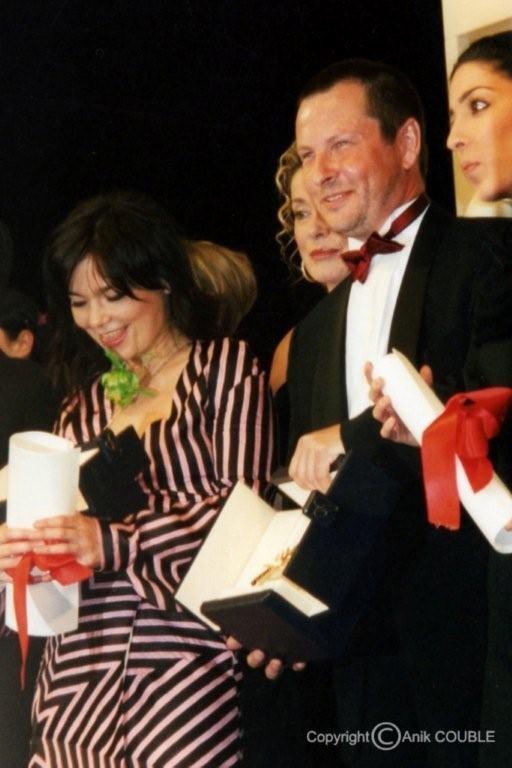 Lauréats 2000  : Palme d'Or pour Lars Von Trier et prix d'interprétation féminine pour Bjork                                                                                      Photo : Anik Couble