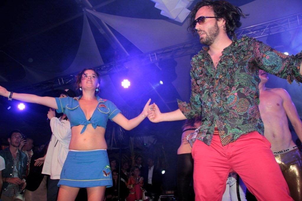 Les Airnadettes, à la Villa Schweppes - Festival de Cannes 2012 © Anik COUBLE