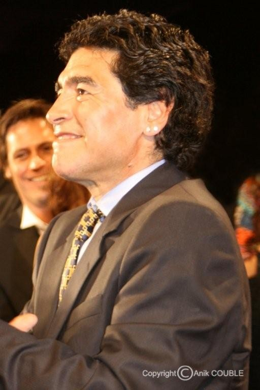 Diego Maradona 2008  / Photo : Anik Couble