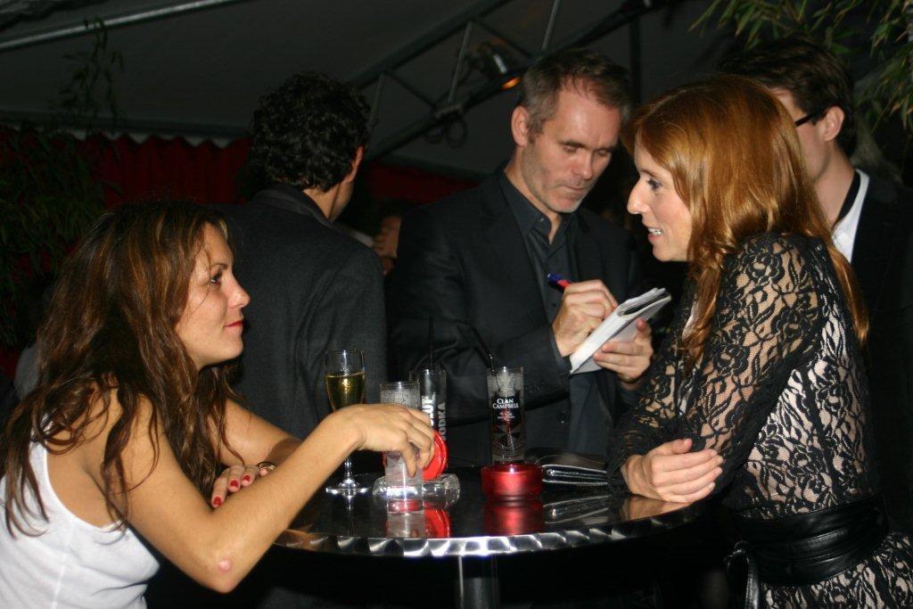 Karole Rocher, Jean-François Richet et Léa Drucke,   à la Plateforme - Festival  Lumière 2010 - Lyon - Photo © Anik COUBLE