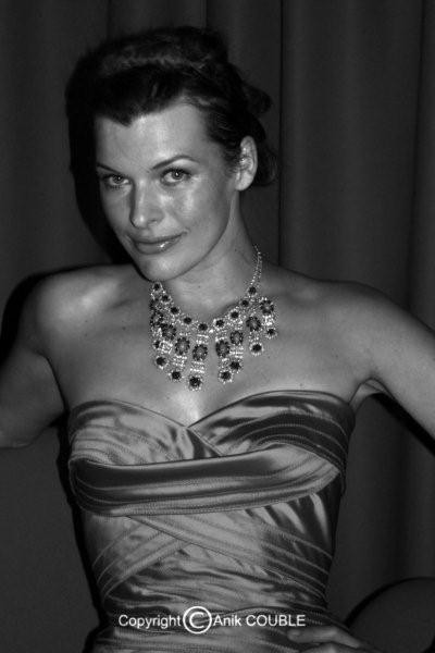 Mila Jovovich 2008  / Photo : Anik Couble