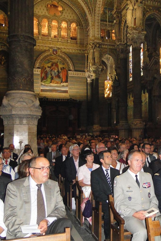 Renouvellement du vœu des Echevins - Basilique de Fourvière - Lyon - 08 Sept 2013 © Pascale Millet