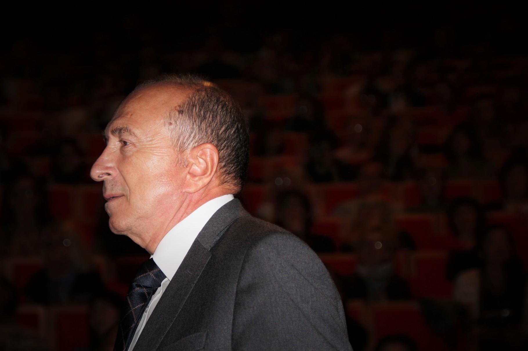Gérard Collomb - Festival Lumière 2011 - Lyon - Photo © Anik COUBLE