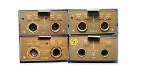 4 x Modul für die Hellige SMU Monitor 1xB-Gas Modul 1xDILU Modul 1xTEMP - Modul 1x 2-fach Druck - Modul Serie für Medizin und Praxis