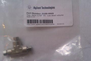 Agilent Technologies 1 16 Tee, 316 SST,Low Dead Volume