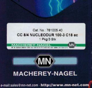 CC 8/4 Nucleodur 100-3 C18 ec Cat.No.:761005.40 Macherey-Nagel Ersatzteile und Zubehör für Chemie und Labor