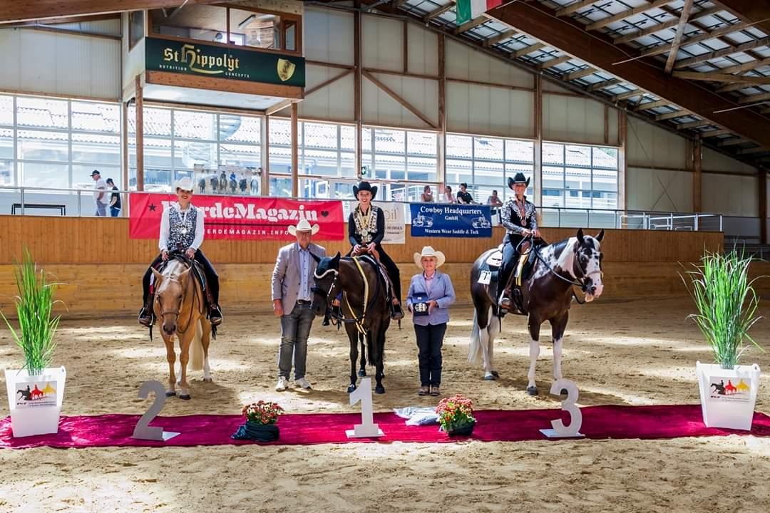 """2019 Landesmeister EWU BaWü - """"Junior Western Pleasure"""""""