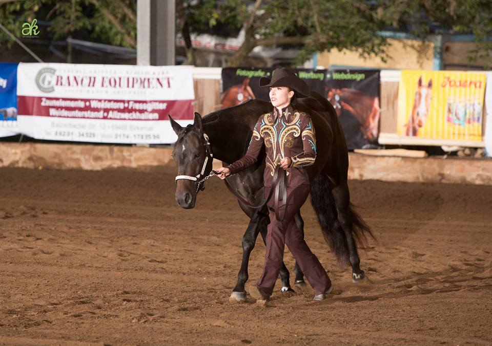 DQHA Mitte Futurity 2017; Showmanship at Halter