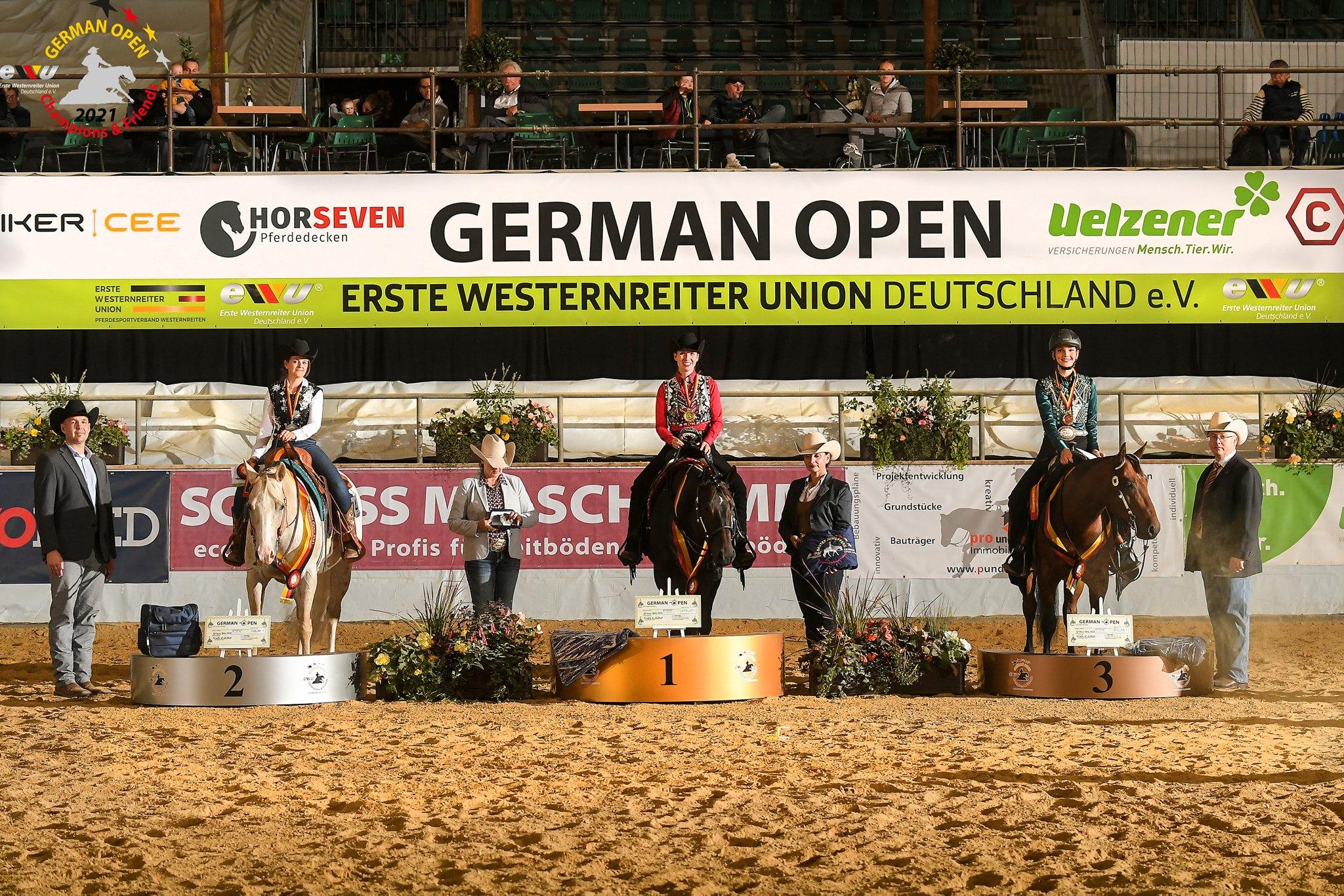 "Bestes Jungpferd Deutschland ""Youngstar Challenge 7jährig"""