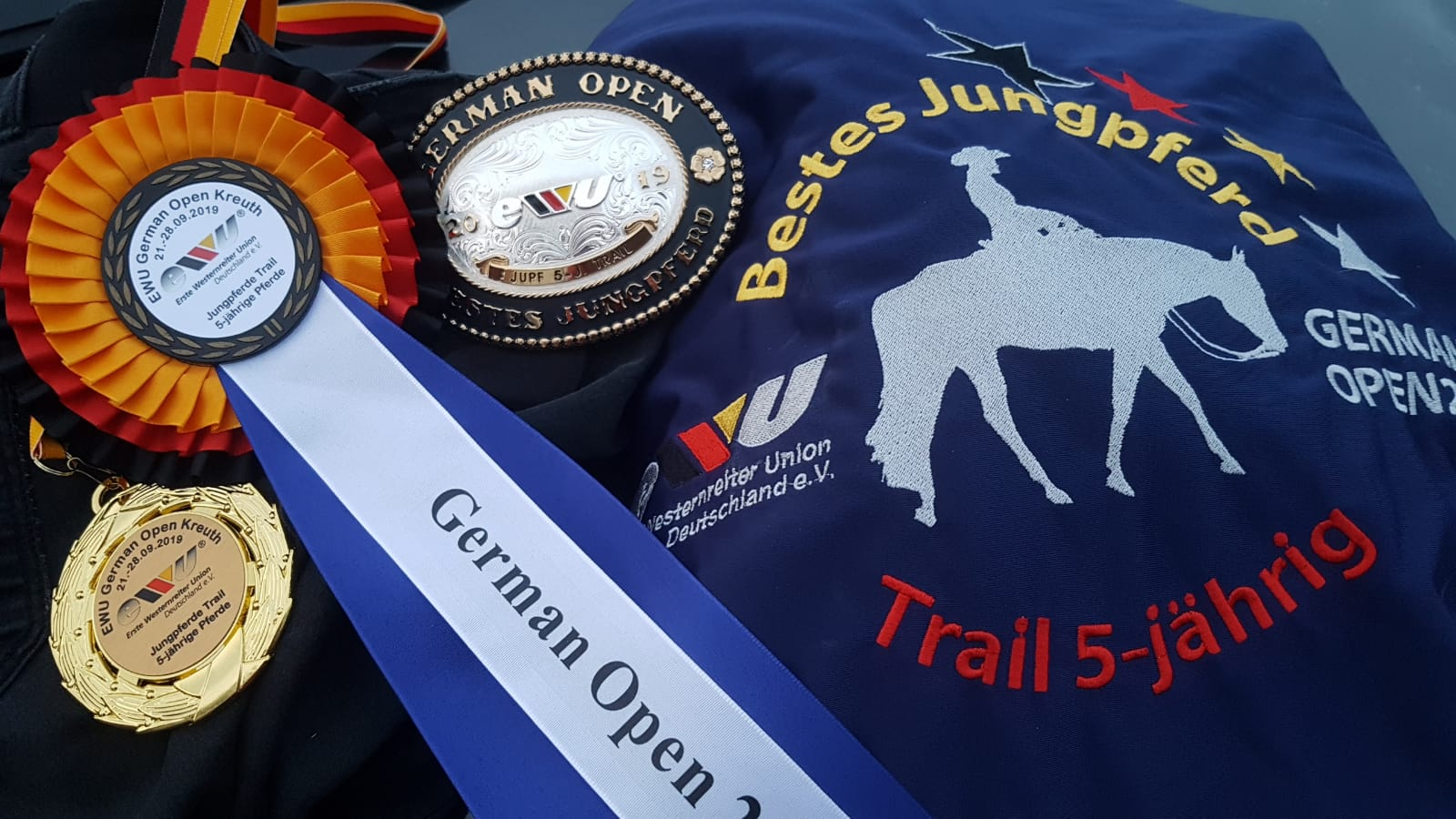 Bestes Jungpferd Deutschland Trail 5-jährig