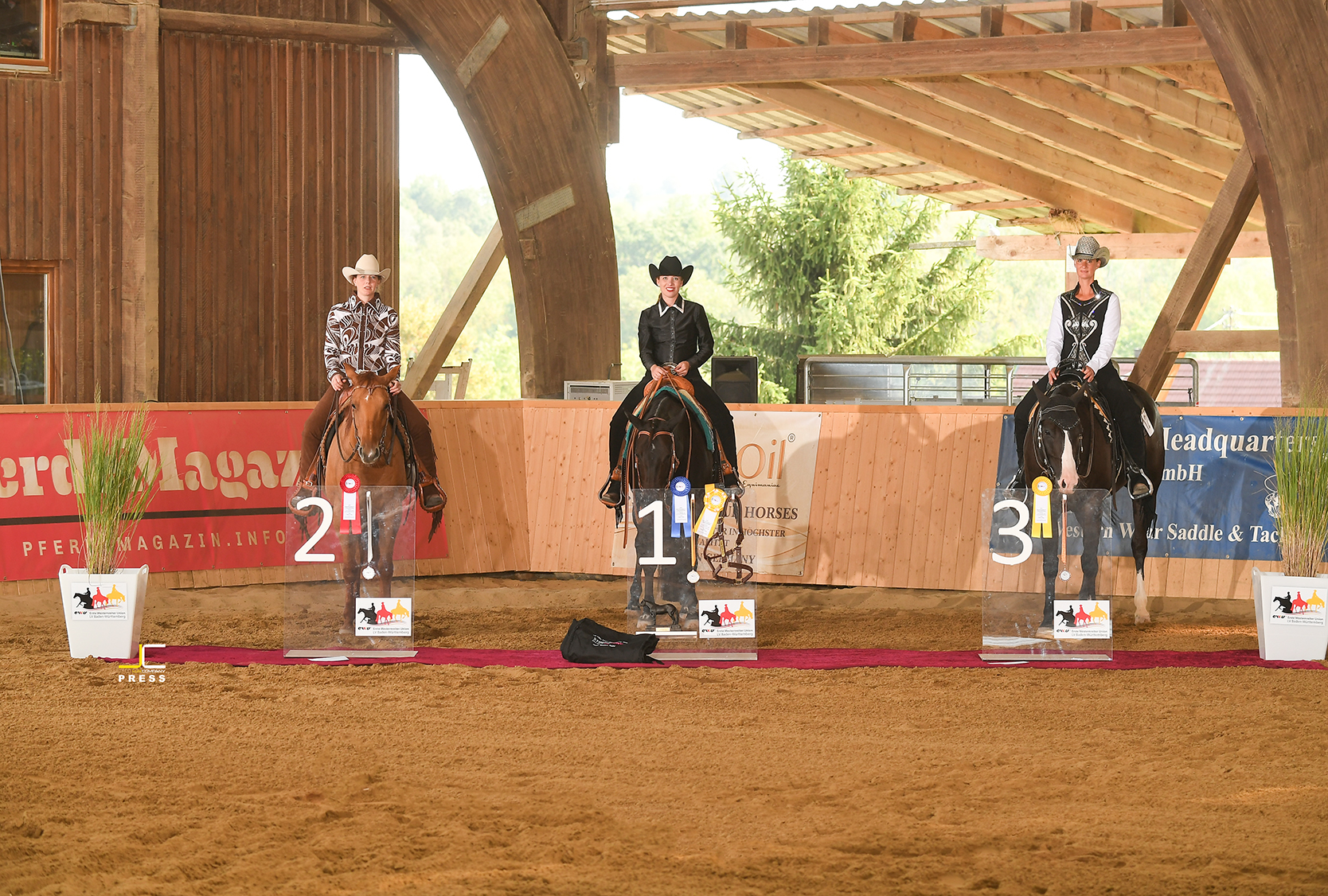 Landesmeister Junior Western Riding (68 & 67,5)