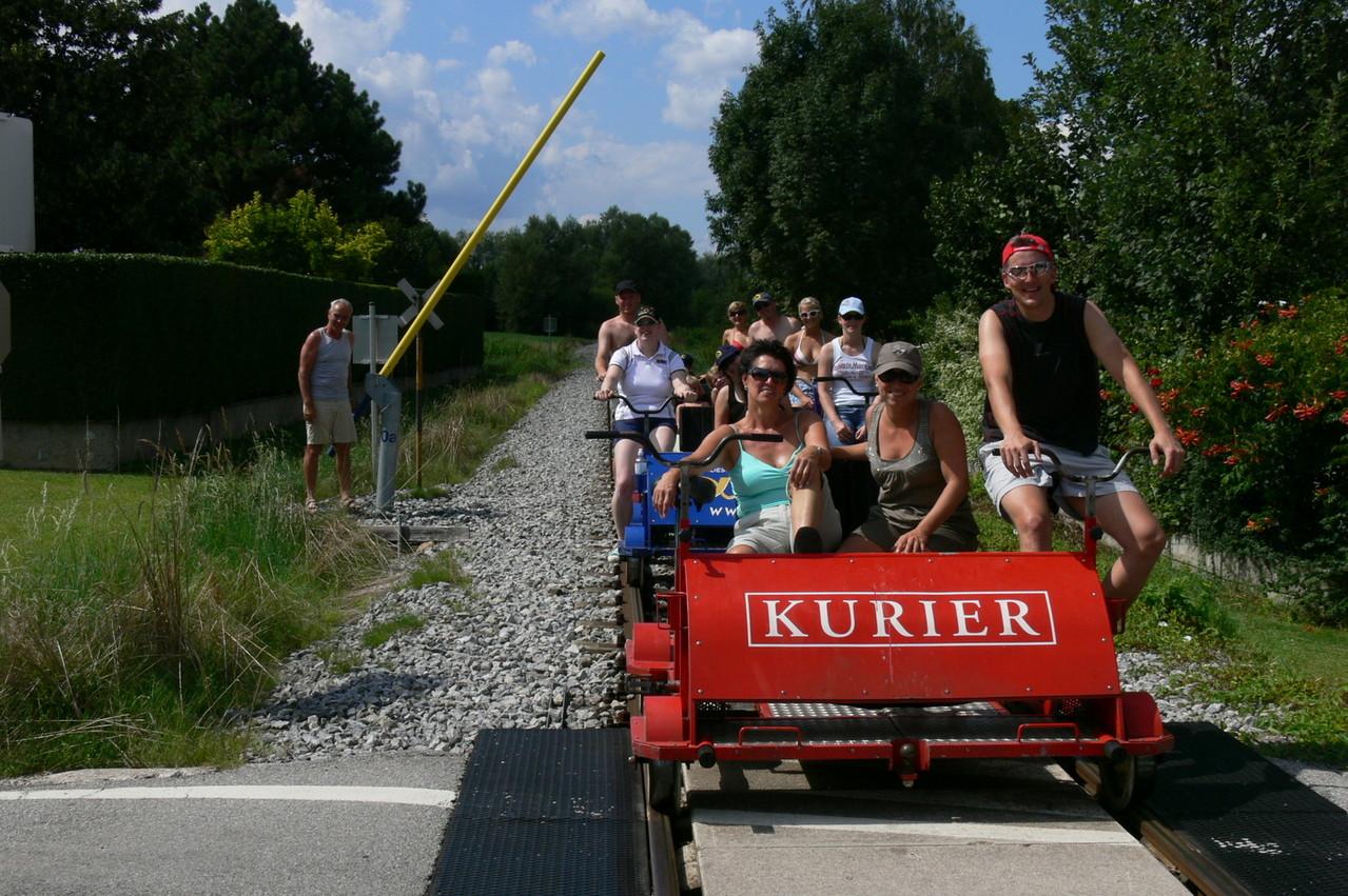 Vereinsausflug Burgenland - Traisinenfahrt