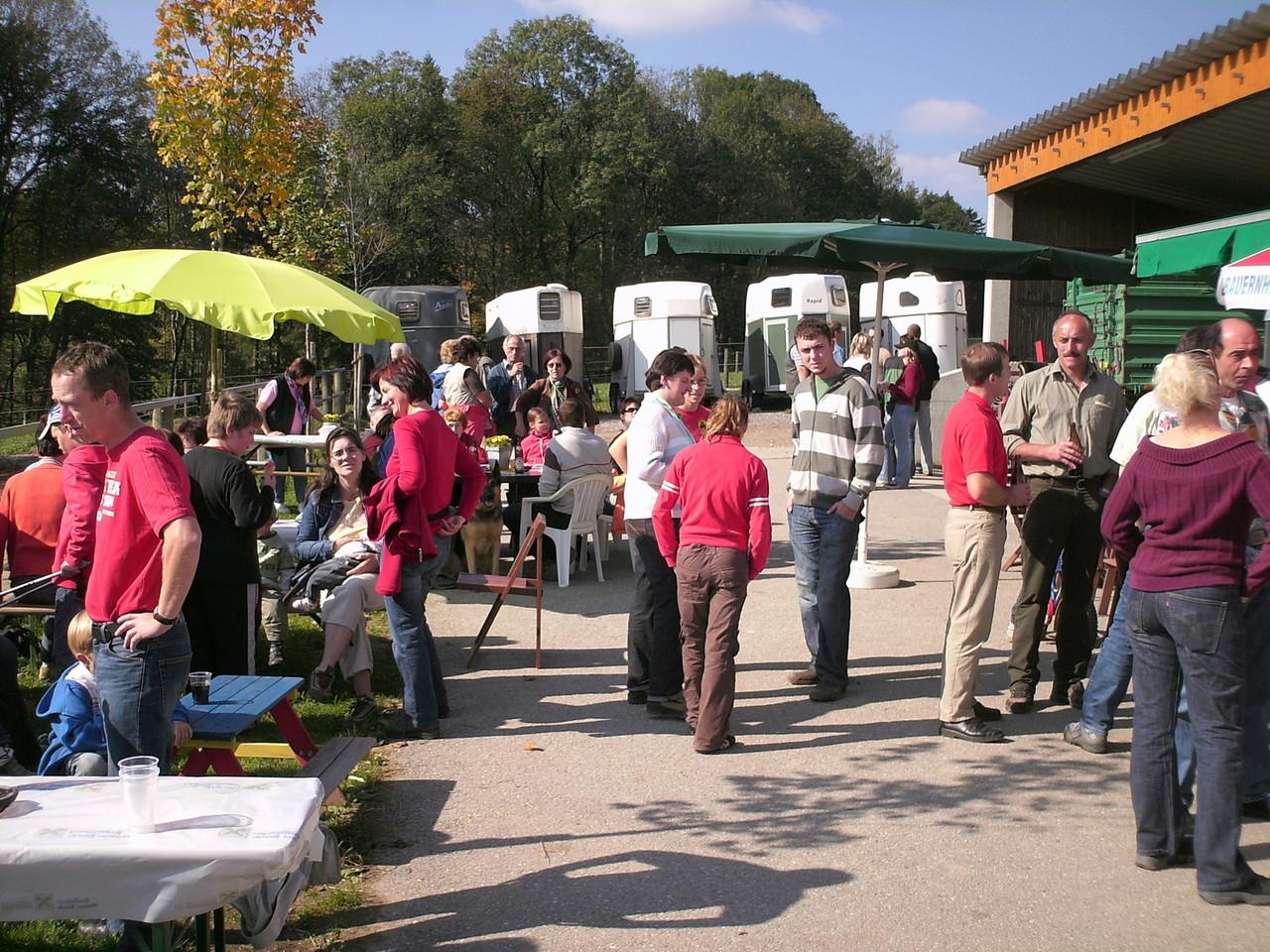 Station beim Wandertag der Bezirksbäuerinnen