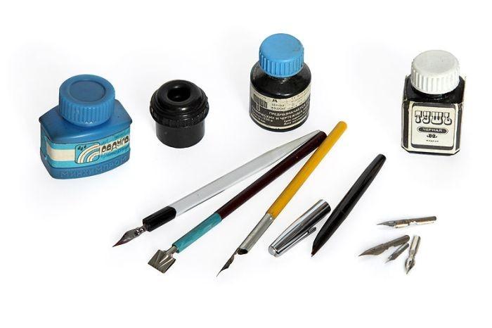 Такими ручками писали наши прабабушки и прадедушки.