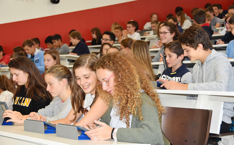 Sainte-Marie Bourges | Formation numérique des collégiens (septembre 2017)