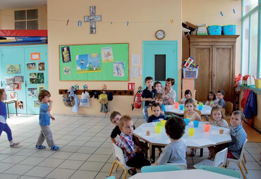 École Saint-Guillaume (rue des Chalets) | juin 2013