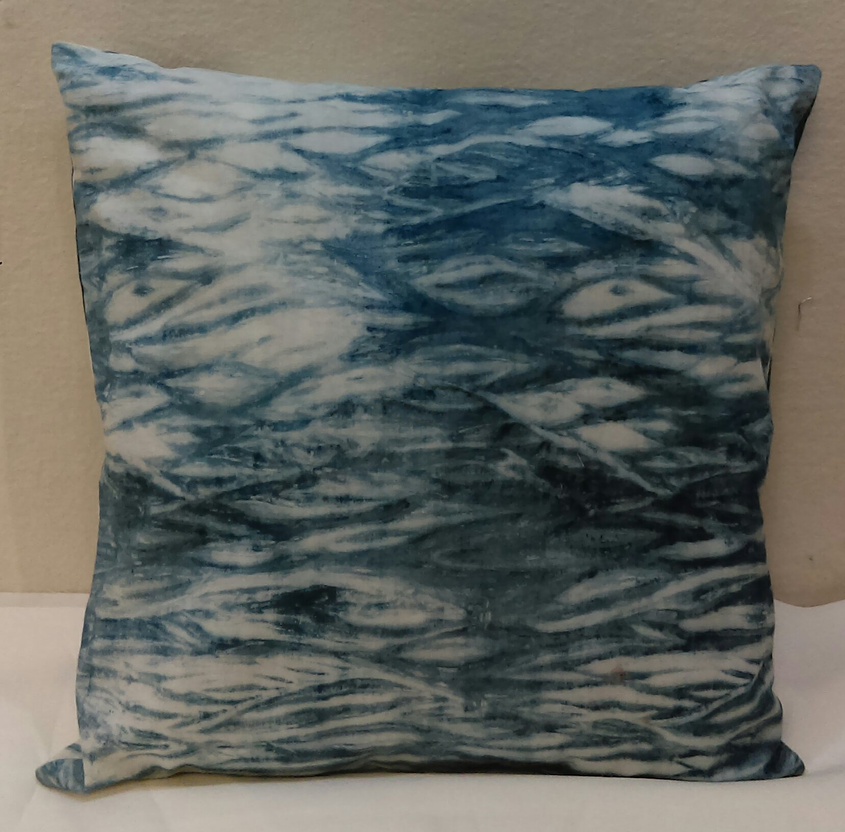 Shibori Pillow project for 2018 Sew Creative Camp