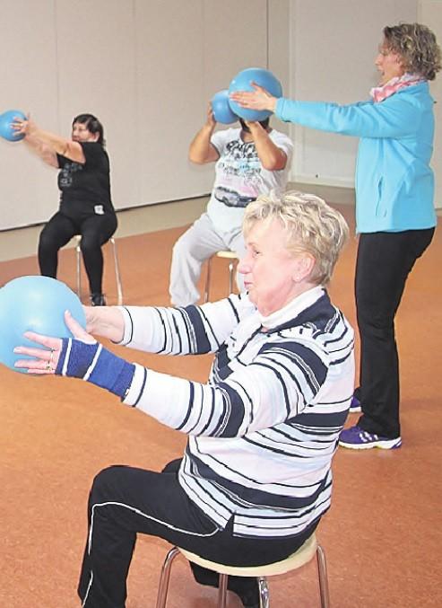 Sitzgymnastik für Senioren