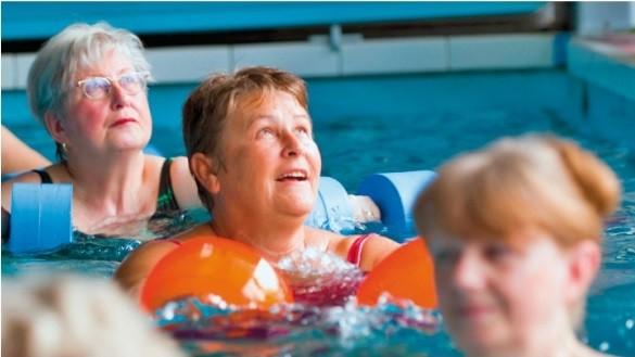 Aqua-Fit für Senioren