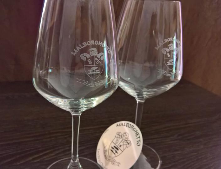 Mod. «Universum» Wine glass | Malborghetto e-shop