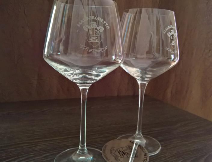 Mod. «Burgundy» Wine glass | Malborghetto e-shop