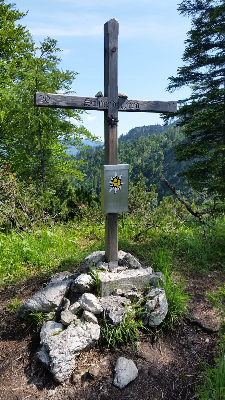 Gipfelkreuz Schneiderberg