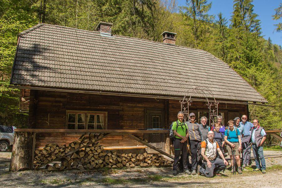 Ankunft Bergerwieshütte