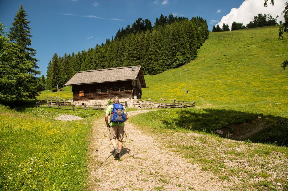 Jagdhütte unterhalb vom Gamsstein