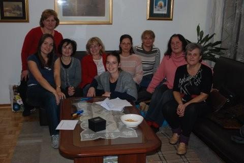 Neke od suradnica iz Zagreba