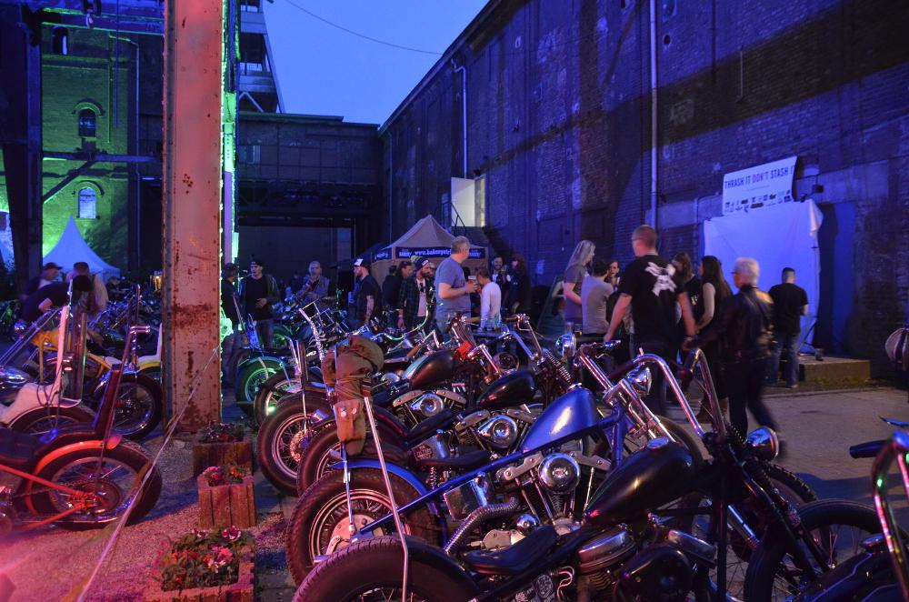 Bike Show unterm Turm an Schacht 2