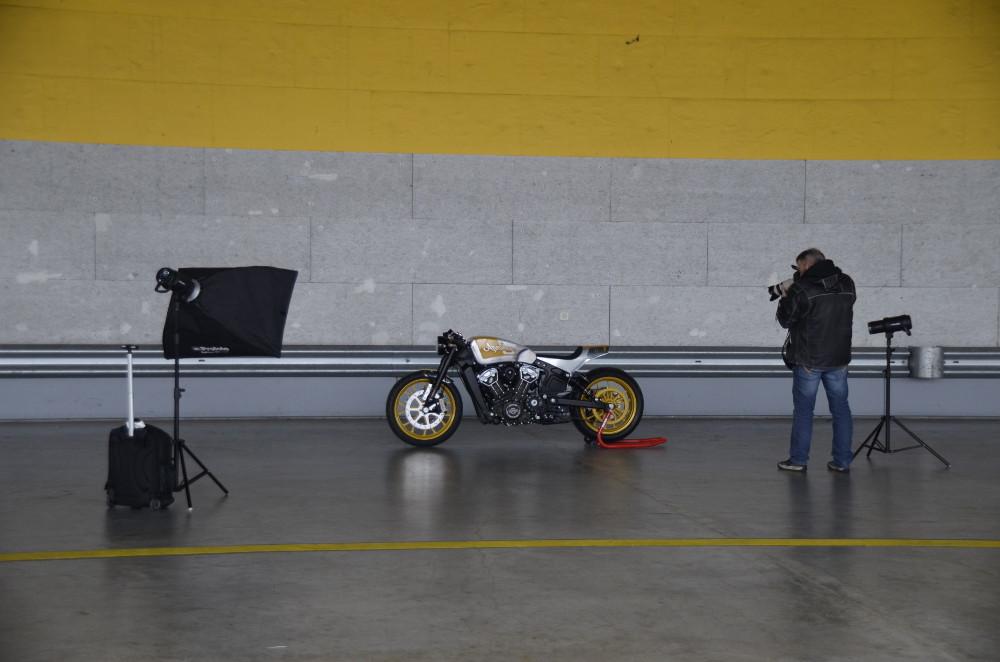 Easyriders Projektbike Scout von Naumann uva