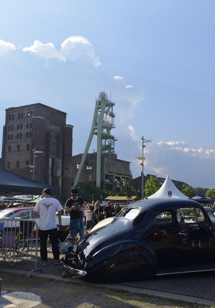 Der Turm an Schacht 2 vom 'Autoplatz'